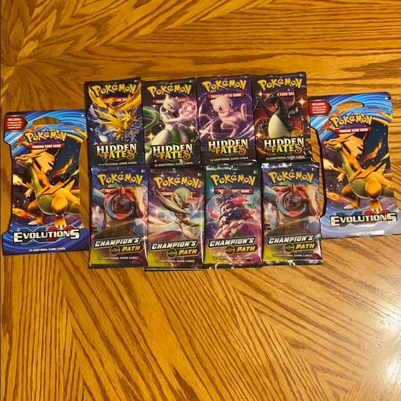 Pokémon Top Selling Booster Pack Bundle